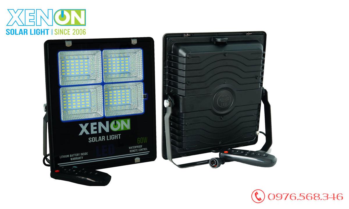 Đèn pha Xenon X60W năng lượng mặt trời