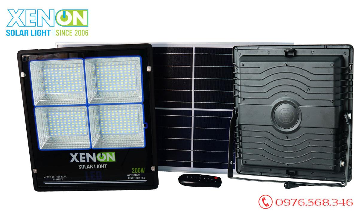đèn pha Xenon X200W cao cấp năng lượng mặt trời