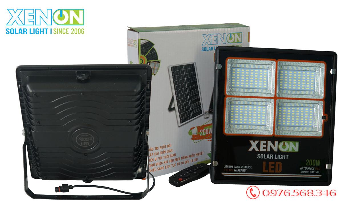 Đèn pha Xenon CX200W năng lượng mặt trời