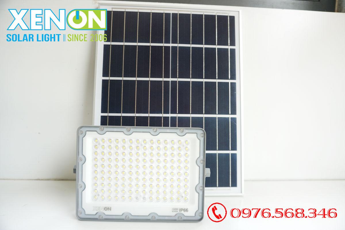 Đèn pha năng lượng mặt trời Xenon Deluxe DL100W