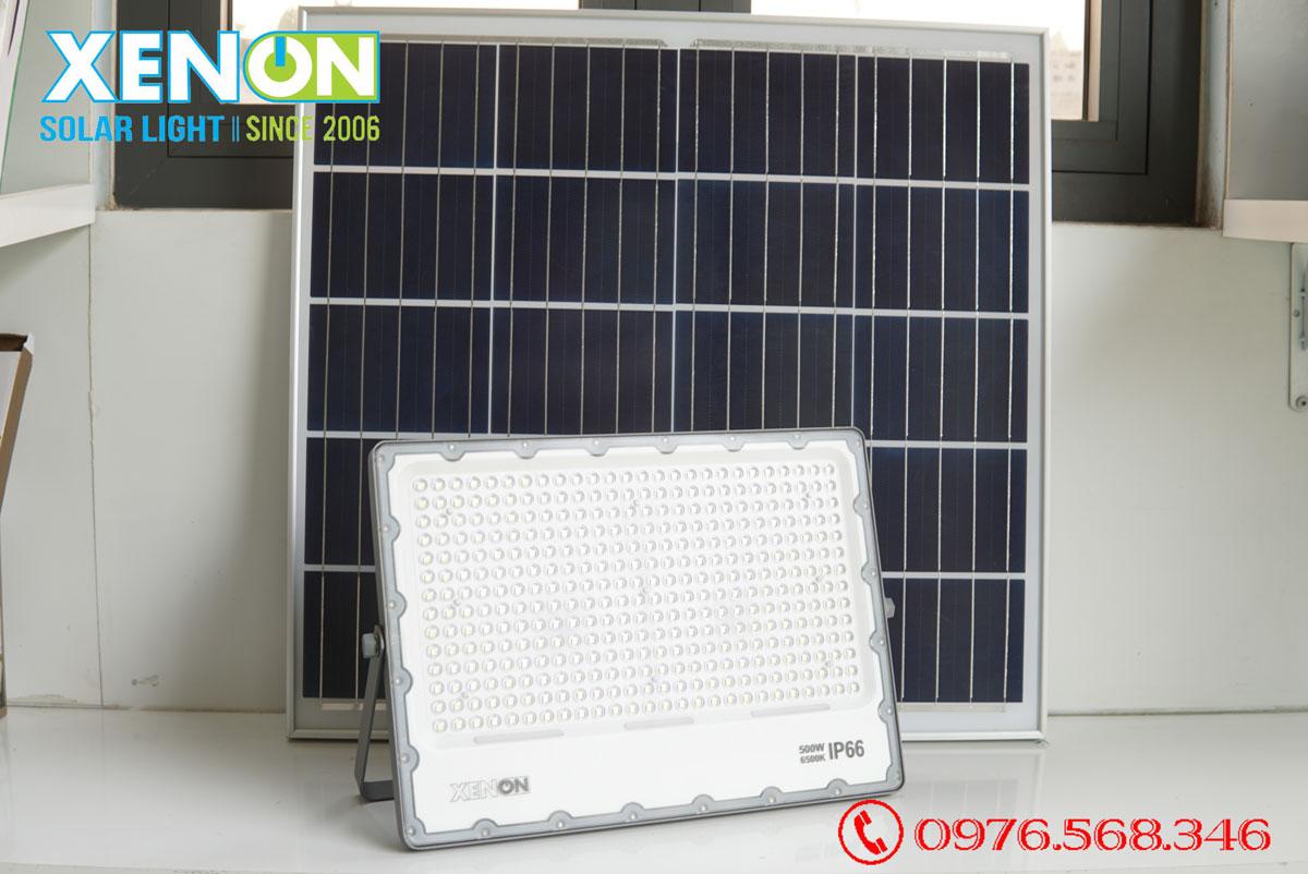 Đèn pha năng lượng mặt trời Xenon Deluxe DL500W