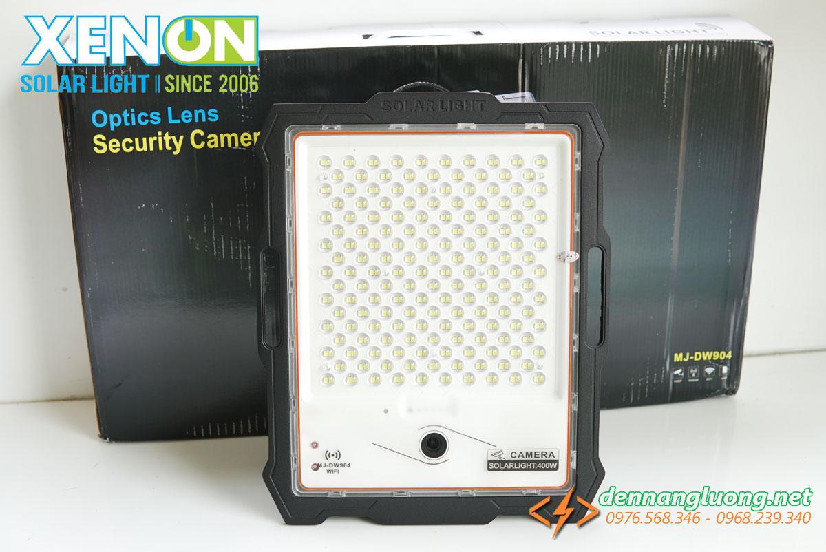 Đèn pha 400W kết hợp camera năng lượng mặt trời
